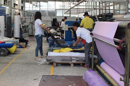 Cutting of fabrics